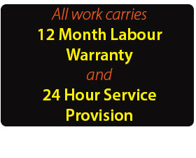 Electrician - 12 month warranty