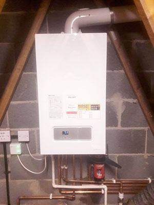 New boiler in Wirral